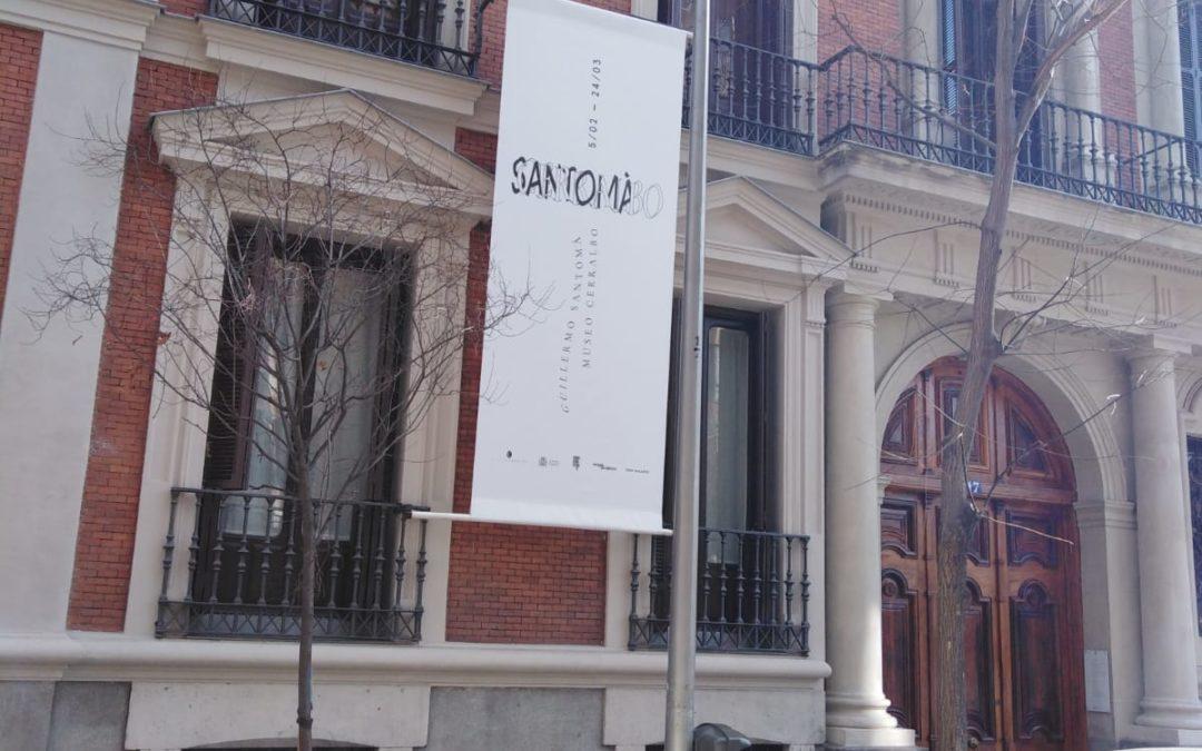 Colaboración en Museo Cerralbo con lonas y vinilos