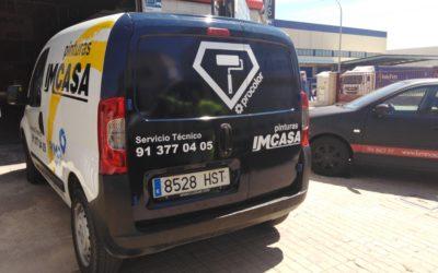 Rotulación de vehículos, también integral con vinilo fundición
